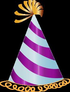 Purple Party Hat Clip Art