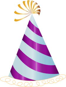 Purple Party Hat Clip Art