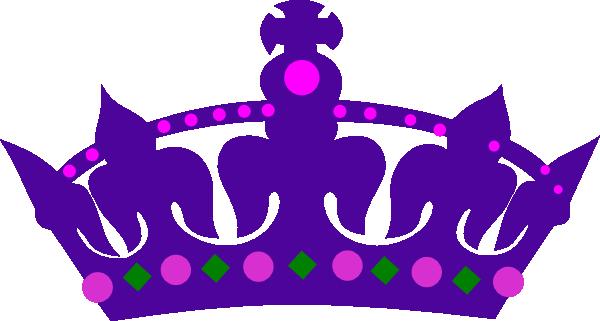 Purple Queens Crown Clip Art ..
