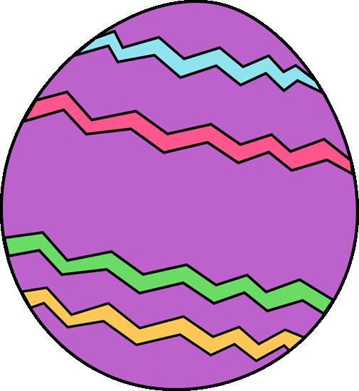 Purple Zig Zag Easter Egg-Purple Zig Zag Easter Egg-3