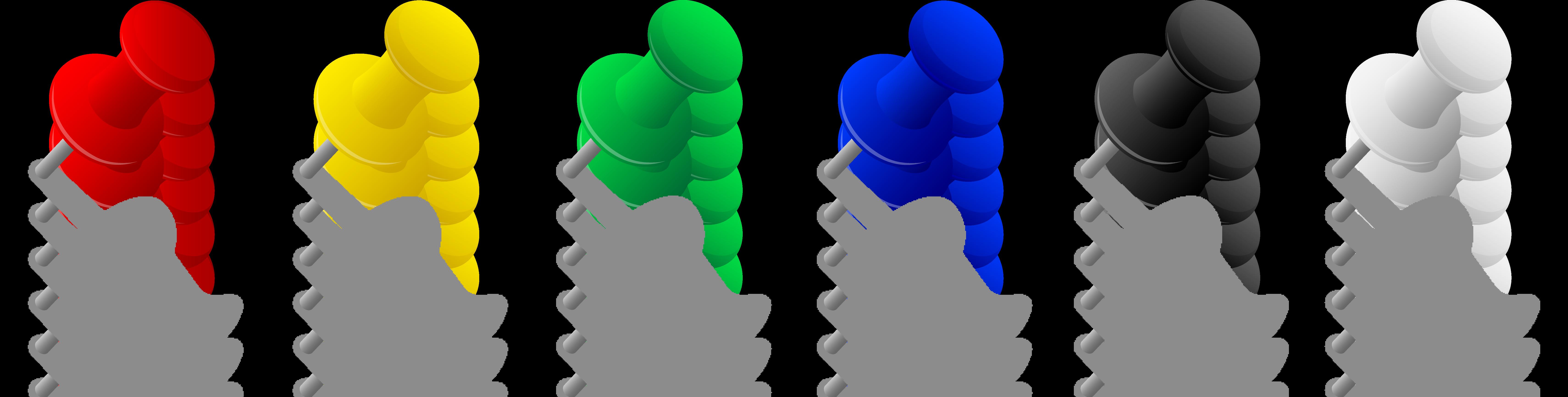Push Pin Clip Clipart-Push pin clip clipart-5