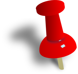 Push Pin Clipart - clipartall .