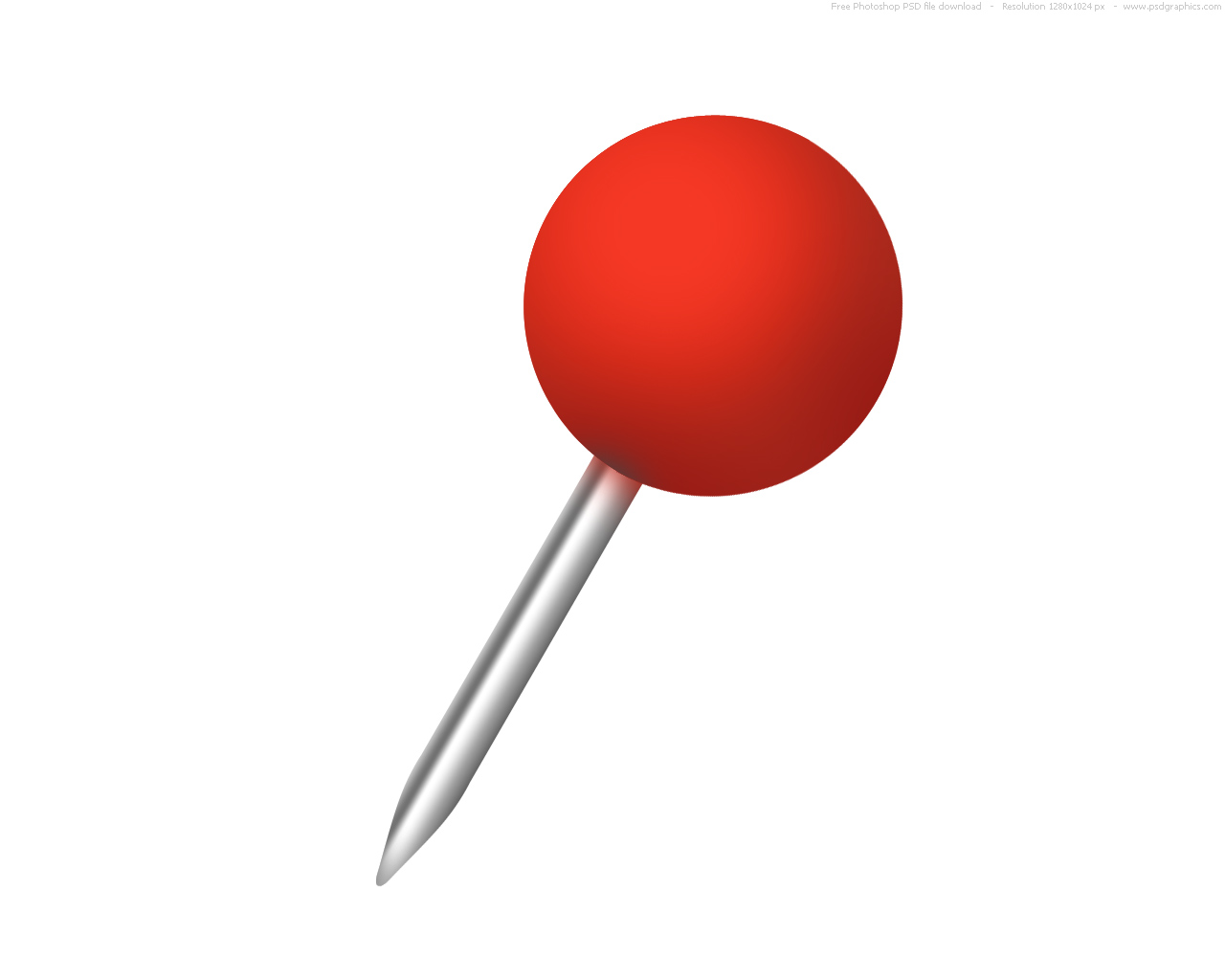 Push Pin Clipart Hostted 2-Push pin clipart hostted 2-9
