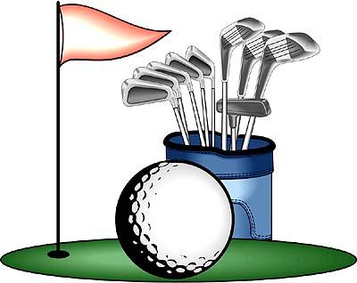 Putt putt golf clip art clipart