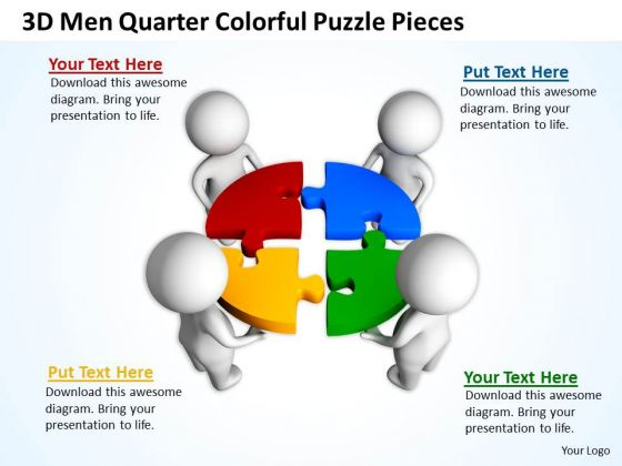 Puzzle Pieces Powerpoint .