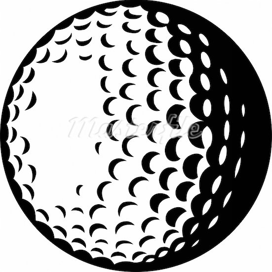 Px Golf Ball Svg image - vect - Golf Ball Clip Art