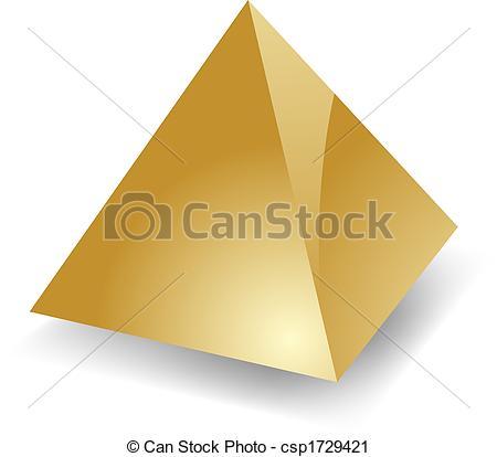 Blank pyramid - csp1729421
