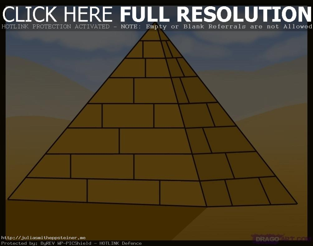 Egyptian Pyramid Clipart ClipartXtras Incredible