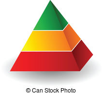 Pyramid Clipart Vectorby berkut2/46 Pyramid illustration - Vector pyramid  illustration