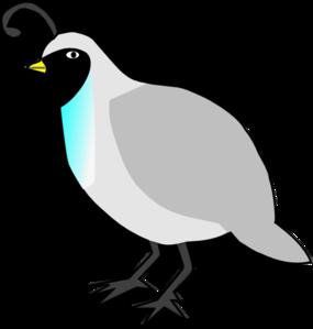 quail clipart black and white
