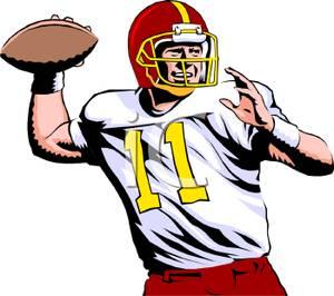 quarterback clipart-quarterback clipart-4