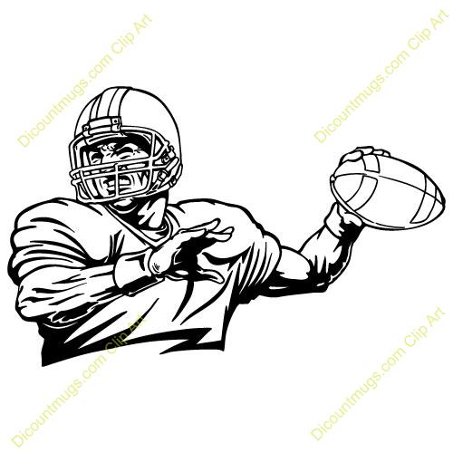 Quarterback Clip Art Clip Art