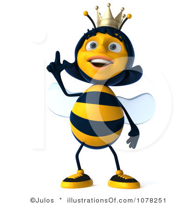 Queen Bee Clipart Black And White Royalt-Queen Bee Clipart Black And White Royalty Free Queen Bee Clipart-8