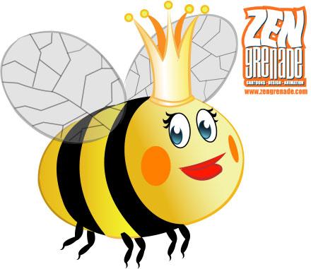 ... Queen Bee Clipart ...