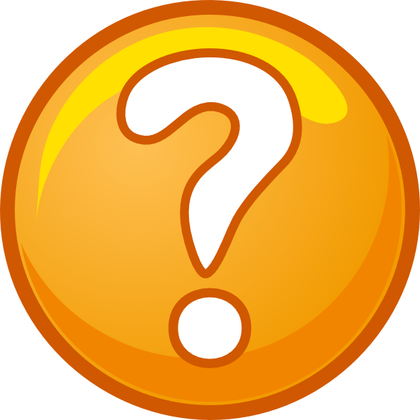 question mark clip art black and white png