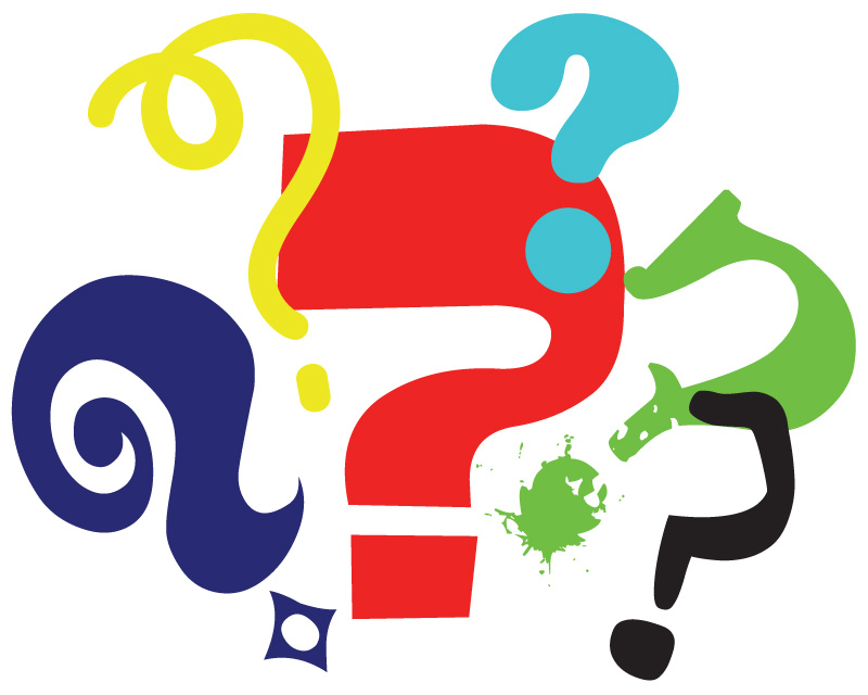 Question marks clip art