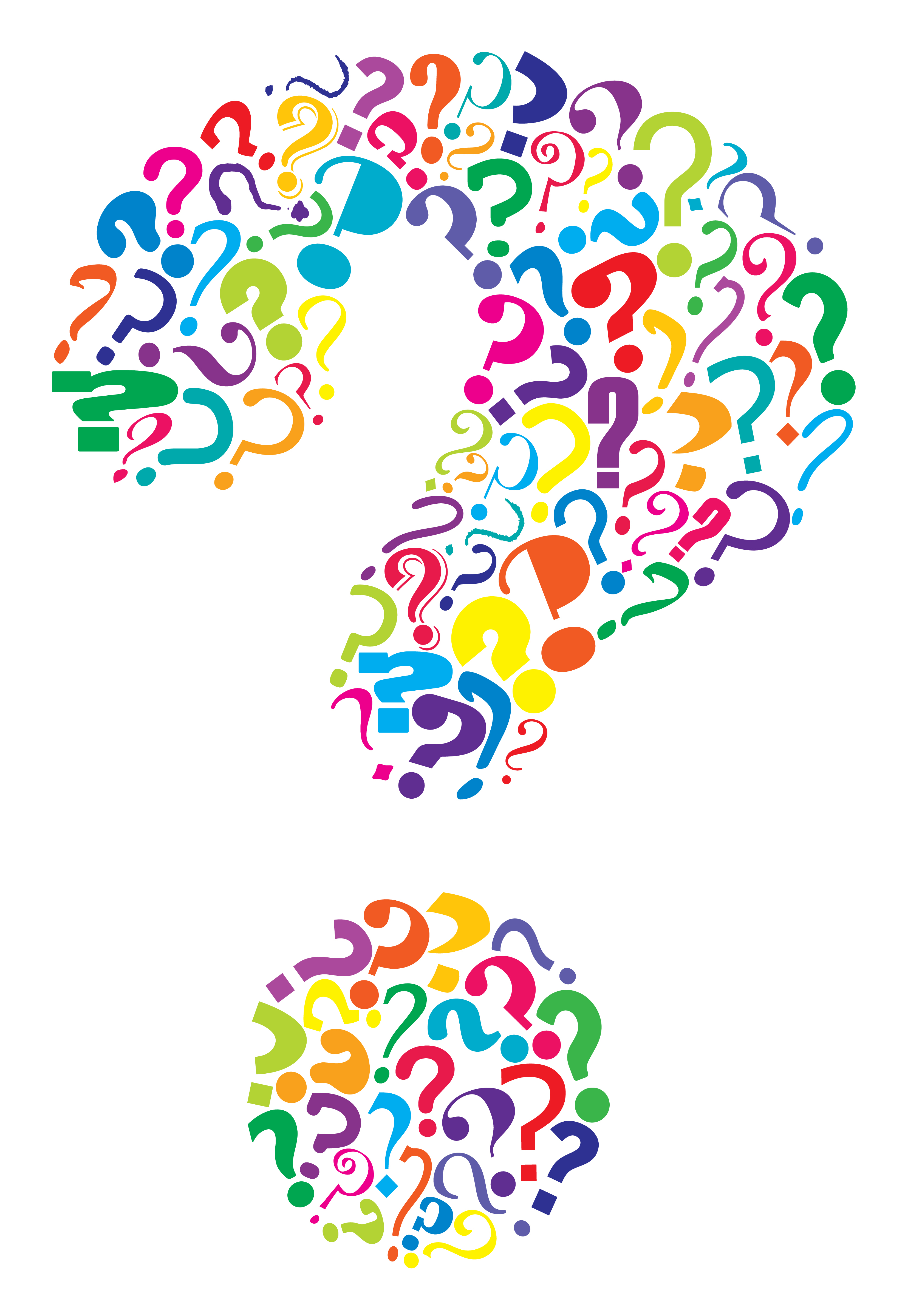 Question Marks Just Right .-Question Marks Just Right .-11