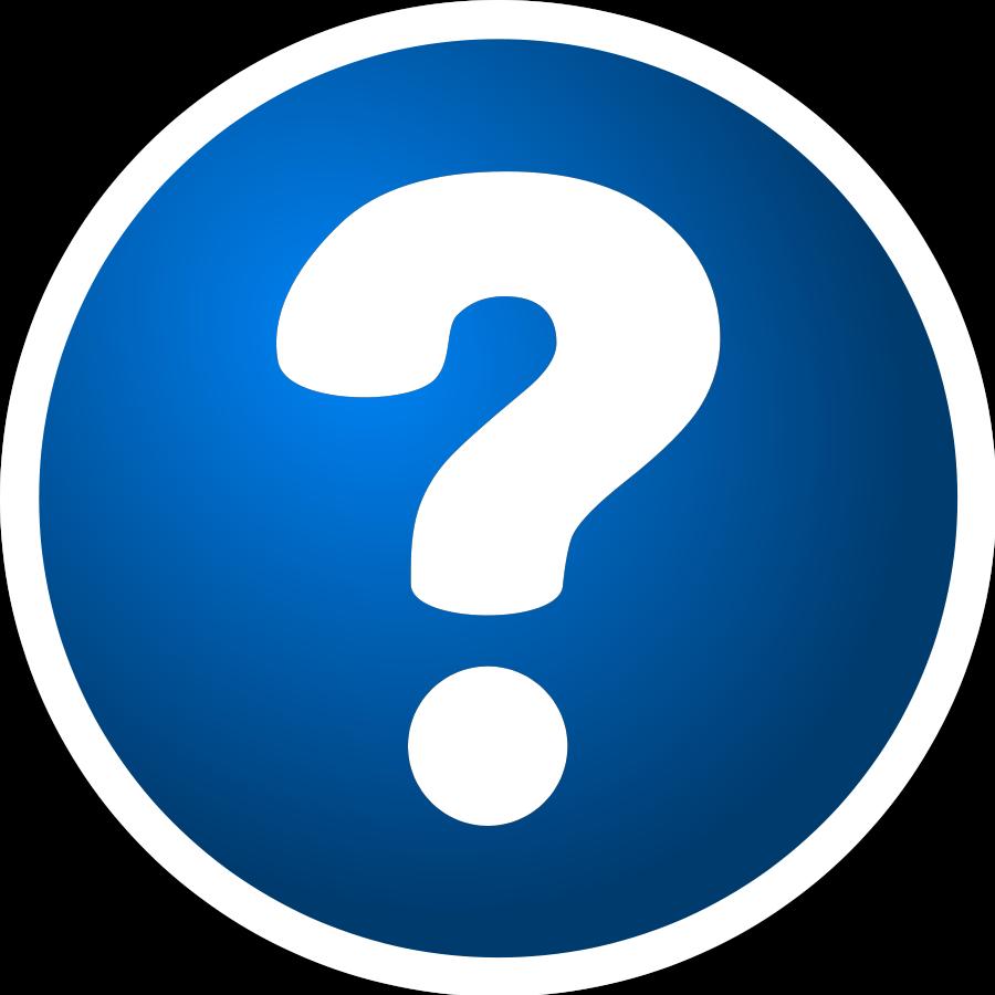 question - Question Mark Clipart