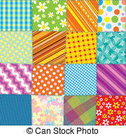 Quilt Collage Abstract Clip Artby BSandl-Quilt Collage Abstract Clip Artby BSandlin2/166; Quilt Patchwork Texture. Seamless Vector Pattern-13