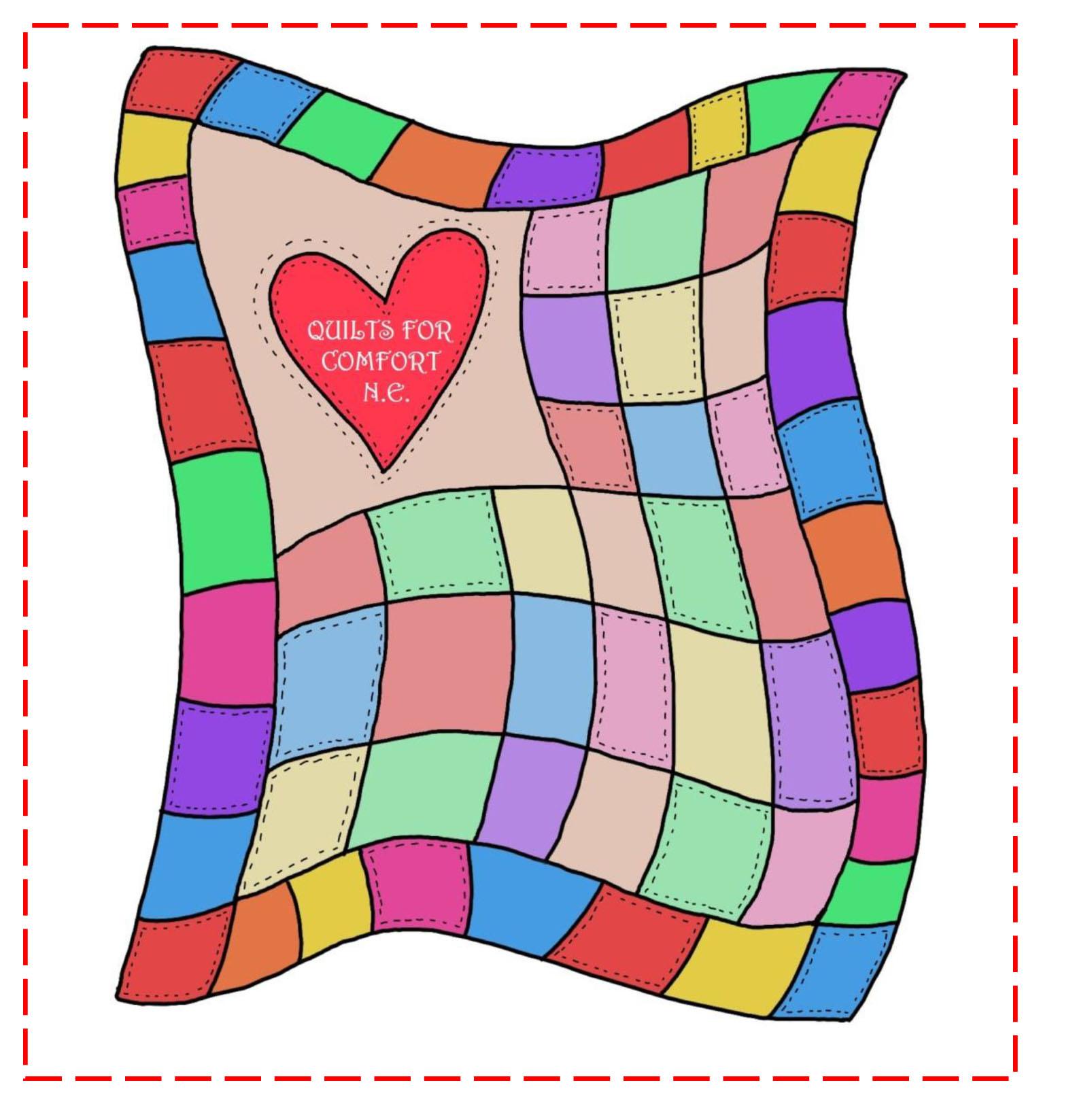 Quilt patchwork clip art