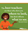 u0026quot;The best teachers a - Pto Today Clip Art
