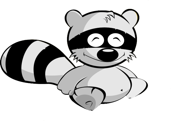 Raccoon Clip Art Images Free For Commercial Use