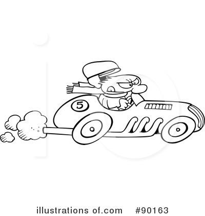 Race Car Clipart 90163 Illustration By Gnurf