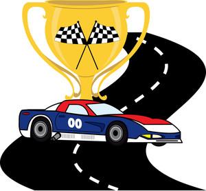 Race car clipart image clipart a racing car