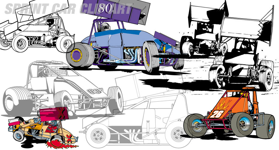 Race Car Clipart-Race car clipart-6