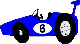 Race car moving clipart