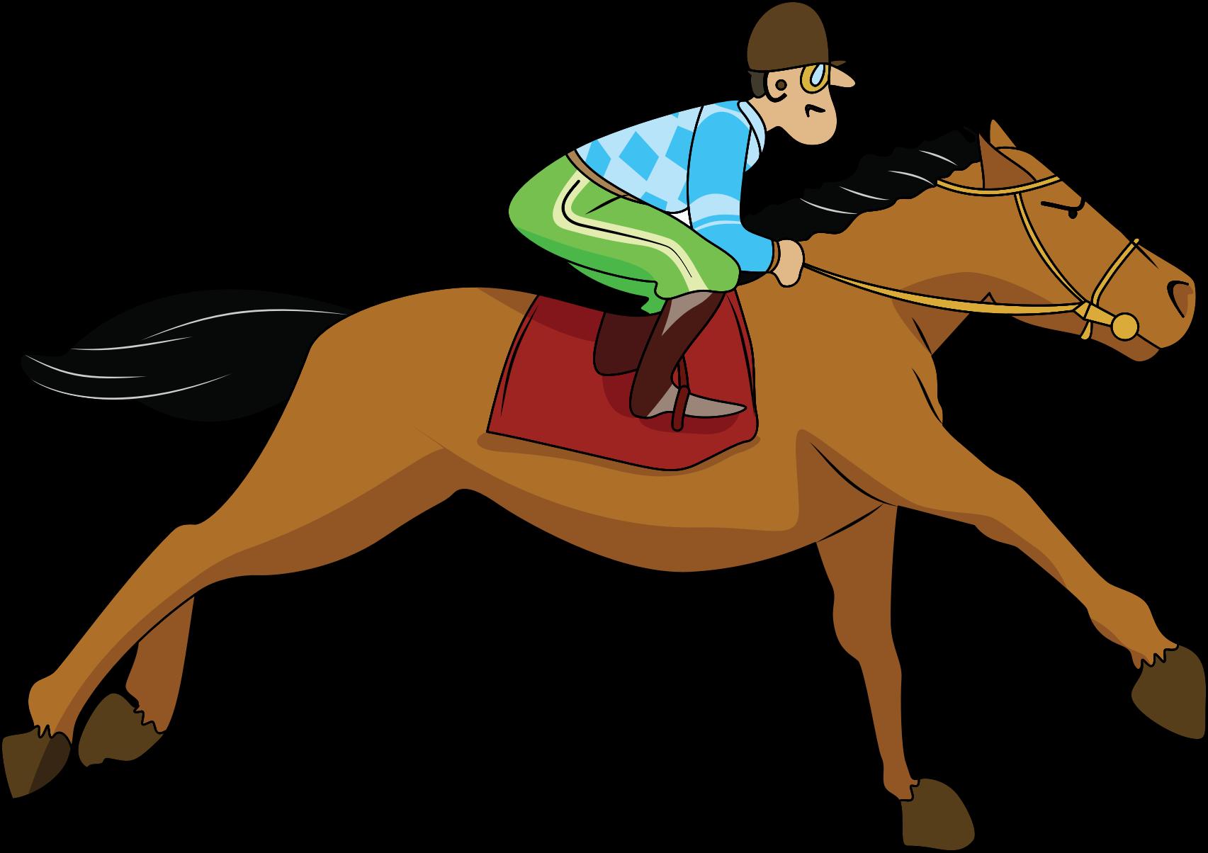 Race Horse Clip Art Clipart Galloping Horse
