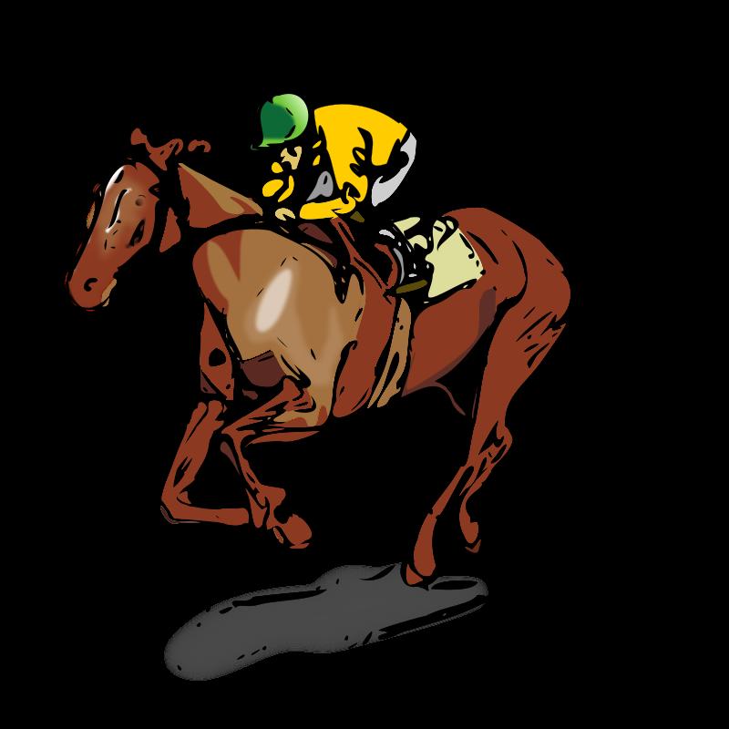 Race Horse Racing Clip Art