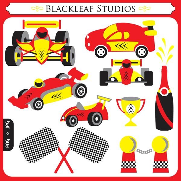 Race Track Clip Art Race Cars F1 Racing
