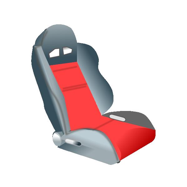 Racing Seat Clip Art At Clker Com Vector Clip Art Online Royalty