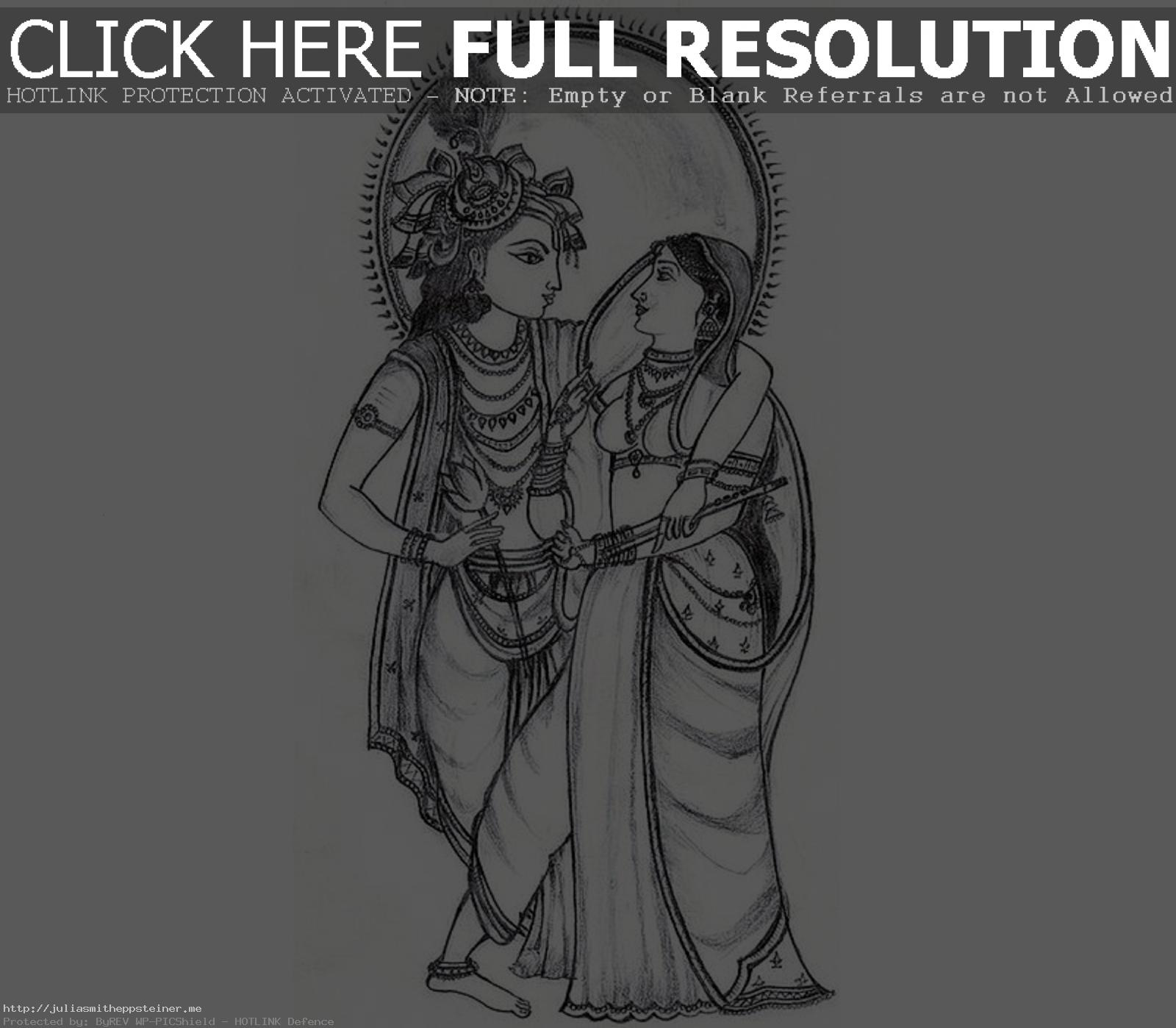 Pictures Wallpapers Radha Krishna Drawing DRAWING ART GALLERY Tearing