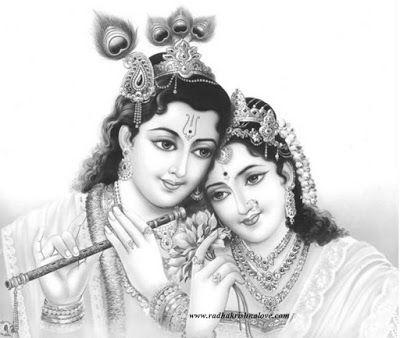 Radha Krishna Clipart Images