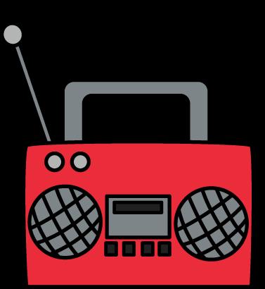 91+ Radio Cassette Pla... Radio Clipart | ClipartLook