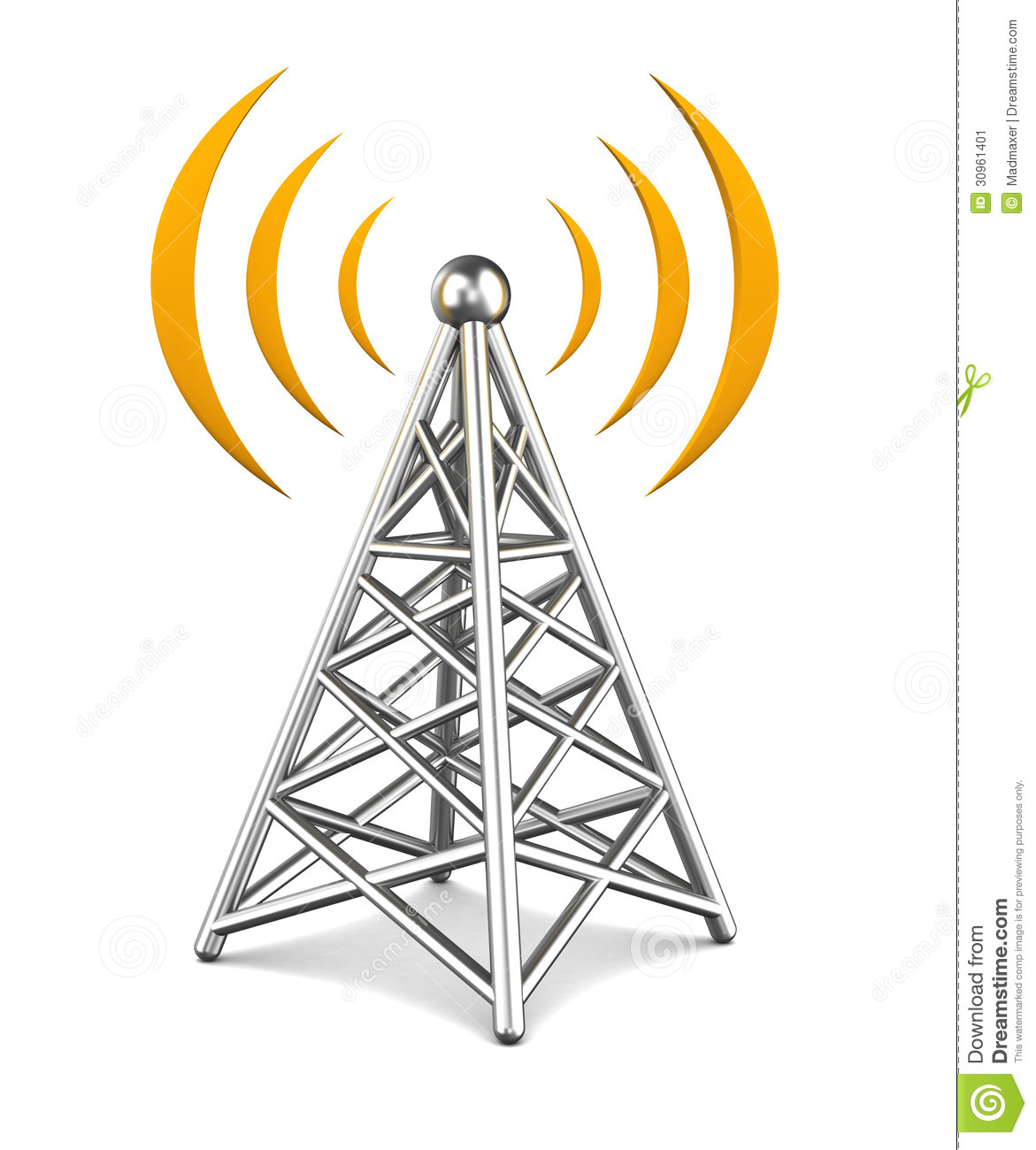 Radio Tower Clip Art Vector Communicatio-Radio Tower Clip Art Vector Communication Tower-6