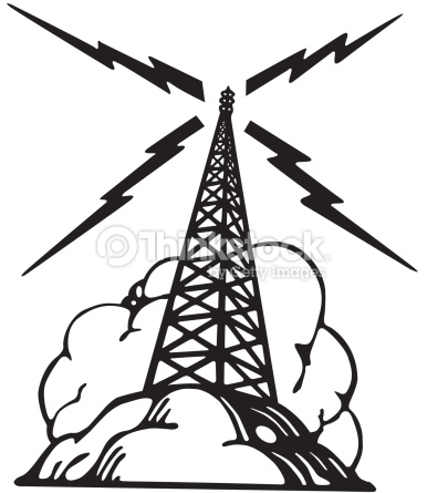 Radio Tower Get The Signal Catch The Wav-Radio tower Get the signal Catch the waves : Vector Art-8