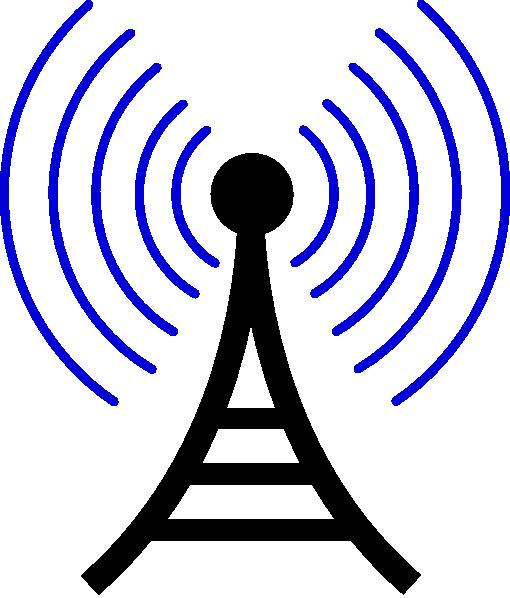 Radio Wireless Tower Clip Art At Clker Com Vector Clip Art Online