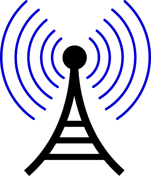 Radio Wireless Tower Clip Art ..