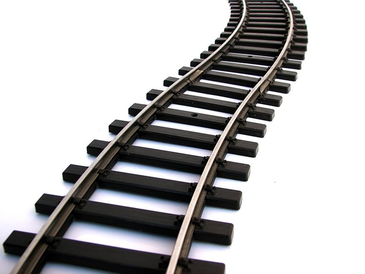 Cartoon Train Tracks Clipart - Share your clipart archive and find cliparts  for your design, presentation and homework!