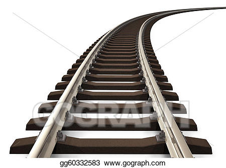 Curved Railroad Track-Curved railroad track-3