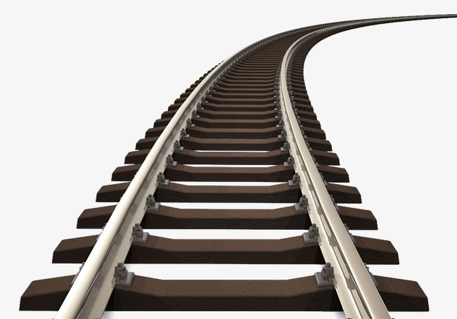 railroad rail track, Railway, Rail, Track PNG Image and Clipart