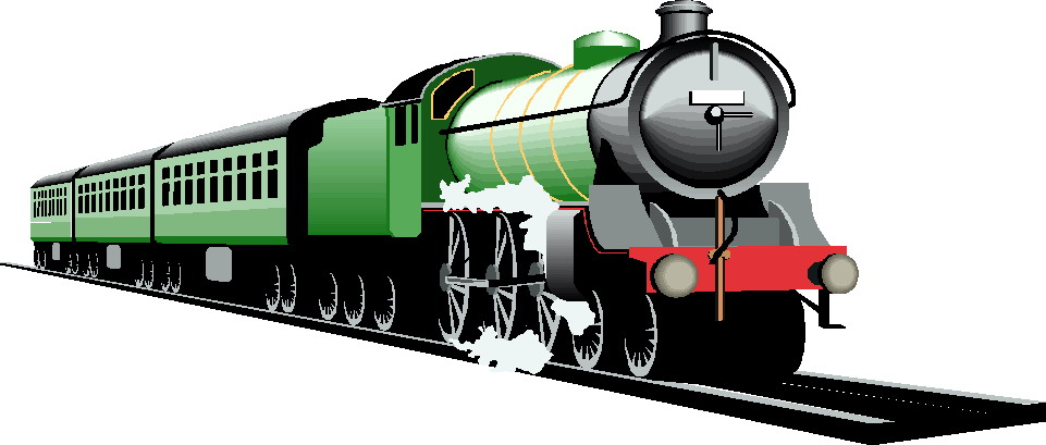 Railroad trains clipart - ClipartFest