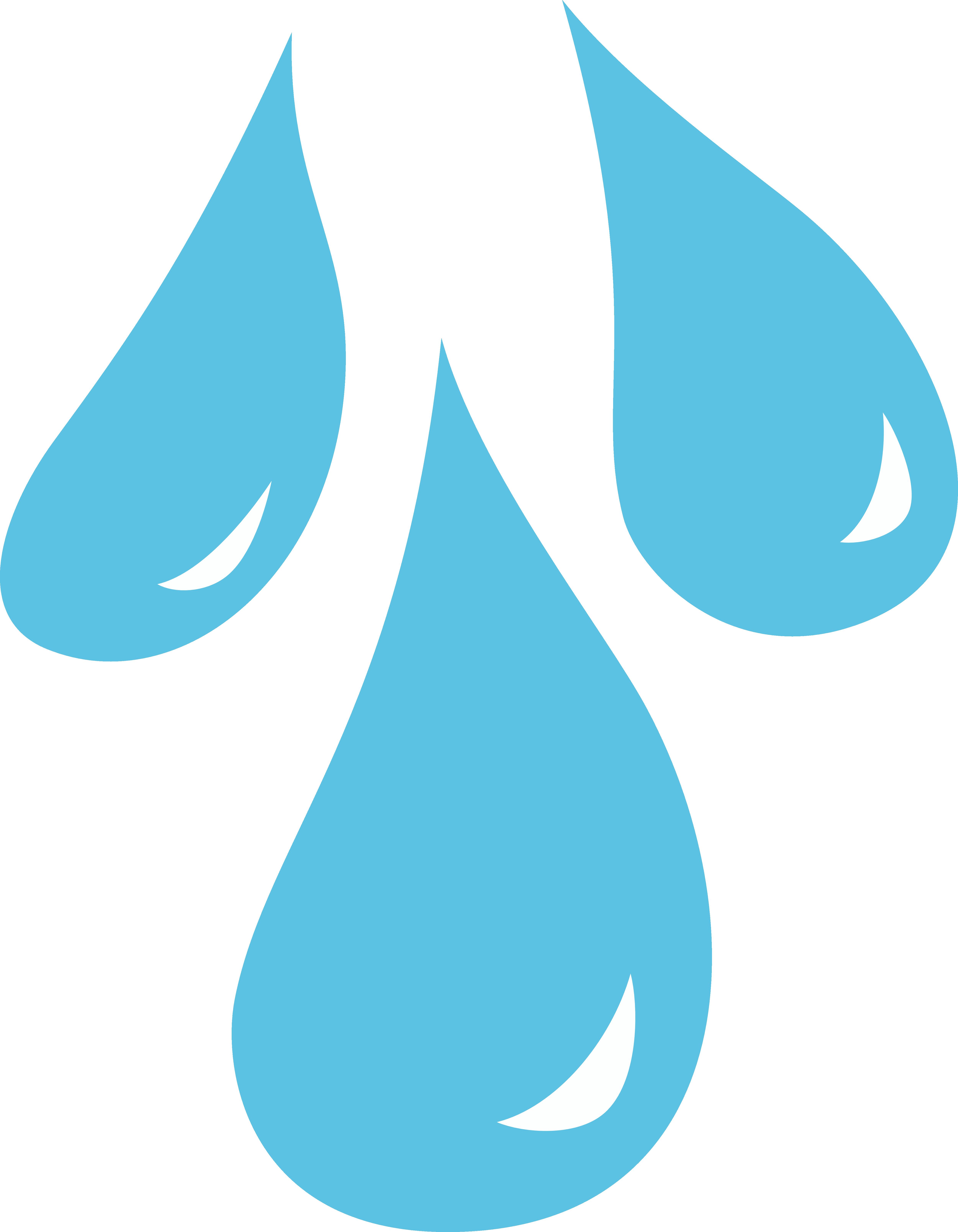 Rain Clip Art - Raindrop Clip Art