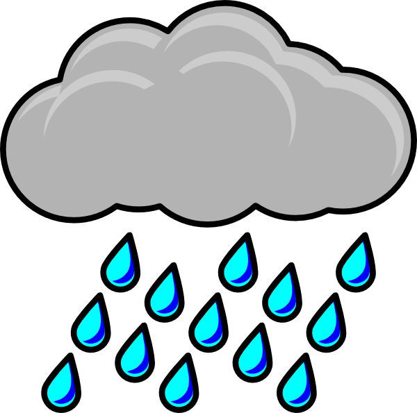 Rain Cloud Clip Art