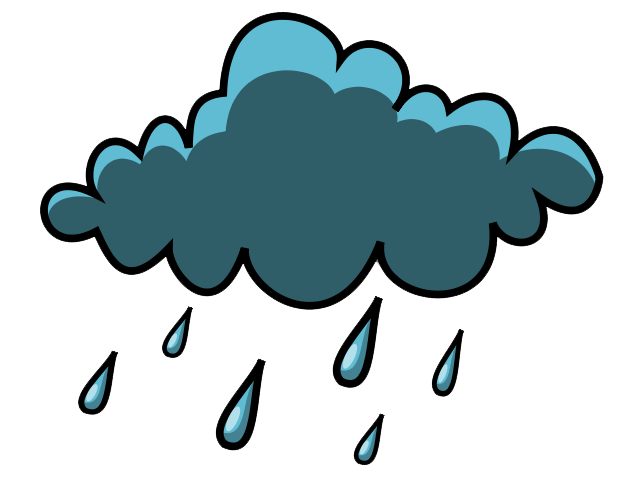 Rain Clouds Clipart