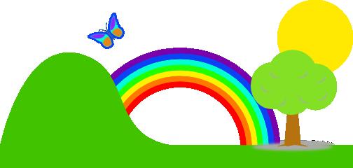 rainbow clip art-rainbow clip art-16