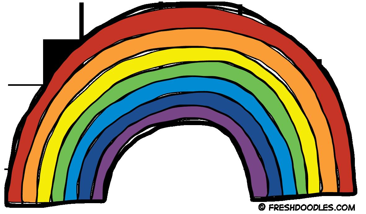 rainbow clipart-rainbow clipart-4
